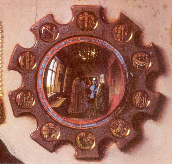 Les poux arnolfini for Symbolique du miroir